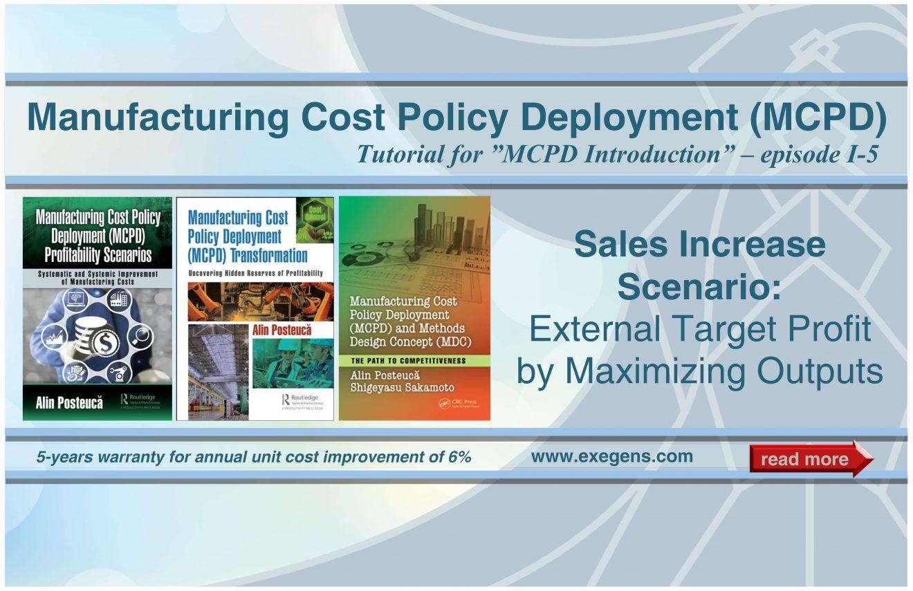 MCPD: Sales Increase Scenario