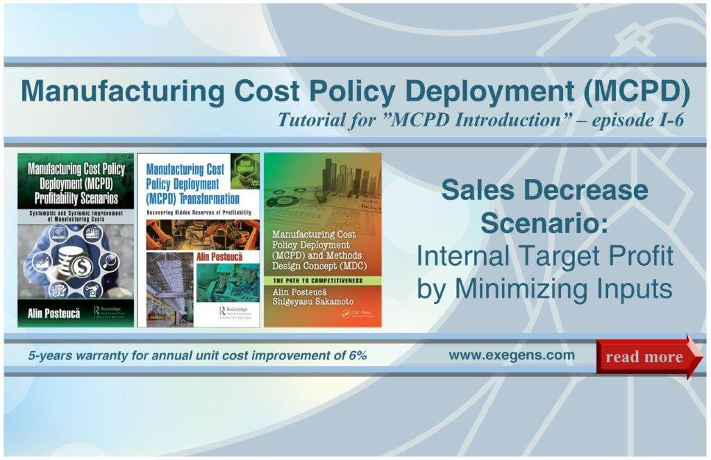 MCPD: Sales Decrease Scenario