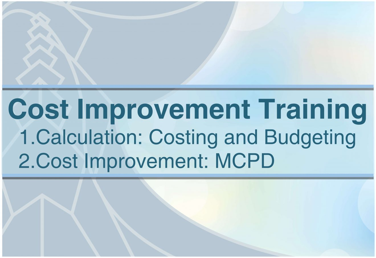 Cost Improvement Training by Exegens