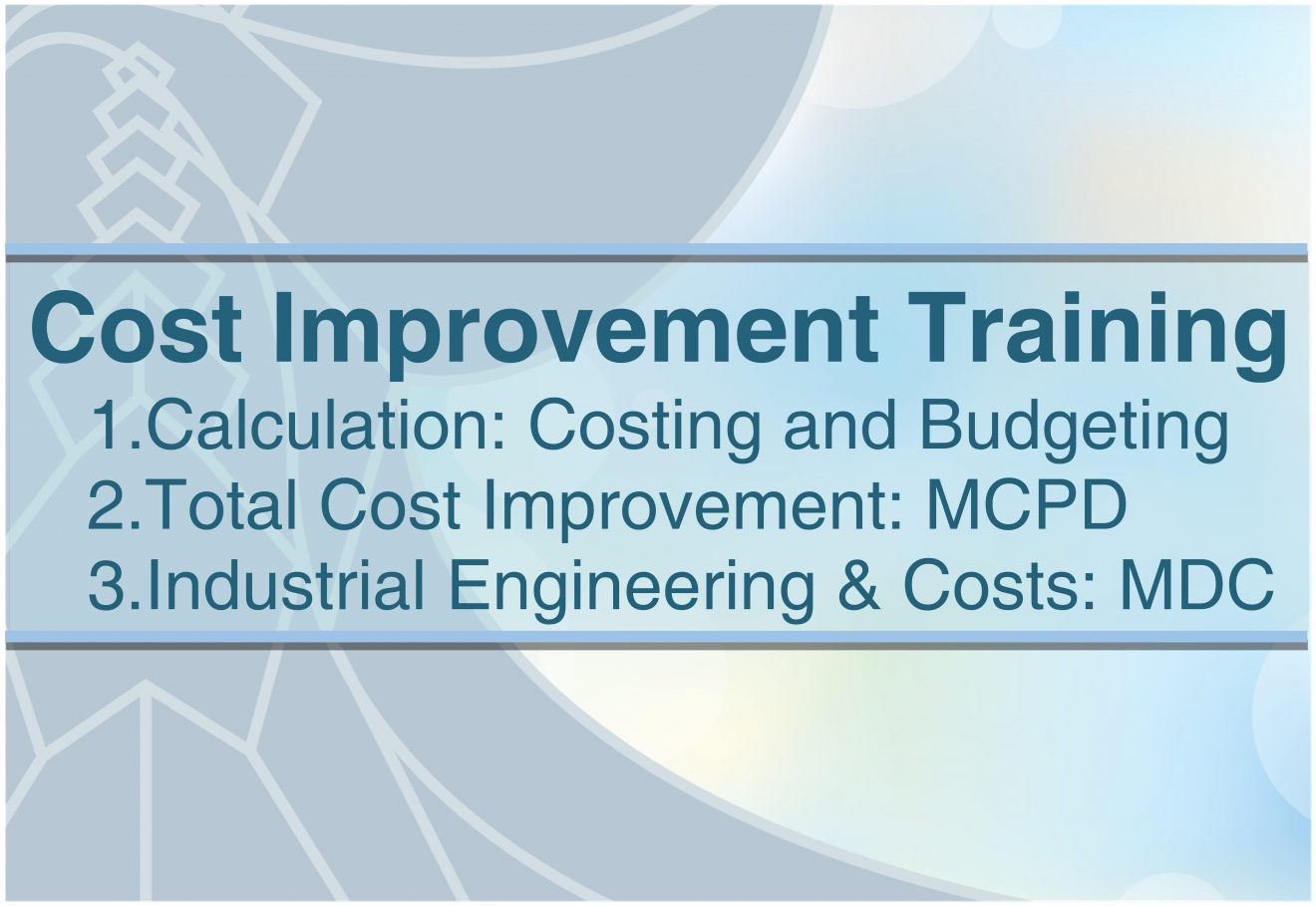 Cost Improvement Training (MCPD & MDC) by Exegens1