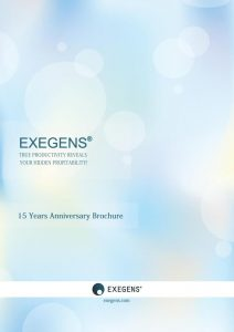 Broșura Exegens